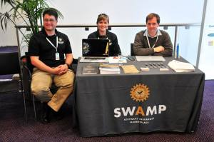 SWAMP booth at AppSec EU 2015