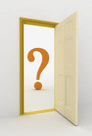 What is behind the door?
