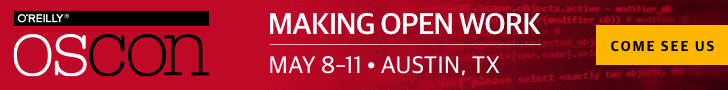 OSCON 2017 Exhibiting Banner